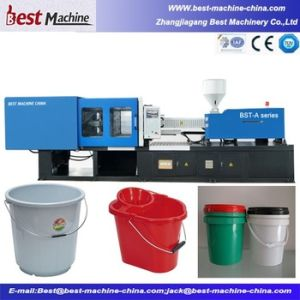 High Quality Plastic Rubber Bucket Injection Molding Making Machine pictures & photos