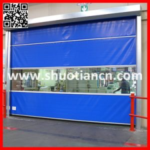 Fast Moving Plastic Roller Shutter Door (ST-001) pictures & photos