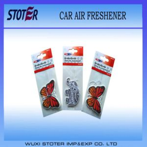 Promotional Custom Paper Hanging Air Freshener for Car pictures & photos