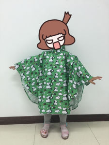 190t Kid′s Polyester/PU Printed Rain Poncho pictures & photos