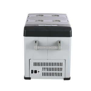 32L DC 12/24V Mini Portable Refrigerator with AC Adaptor for Car pictures & photos