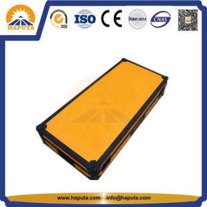 Yellow Popular Aluminium Musical Flight Case (HF-5202) pictures & photos