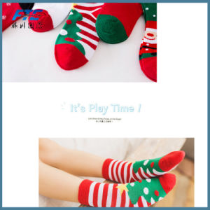 Promotional Plush Christmas Stocking Sock for Kids pictures & photos