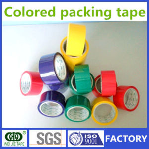 Weijie Strong Adhesive Colorful BOPP Packaging Tape Made in China pictures & photos