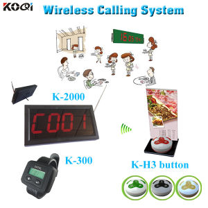 Wireless Paging Calling System for Restaurant Pager Beeper pictures & photos