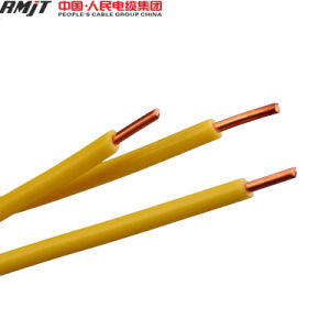 PVC Insulated Solid Copper Conductor Single Core Electric Wire Cable pictures & photos