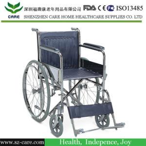 Foldable Wheelchair Pedal Wheelchair Durable Wheelchair pictures & photos
