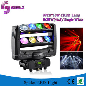 8*10W 4in1 Vertical Endless Moving Scanning Head Lamp (HL-015YT) pictures & photos