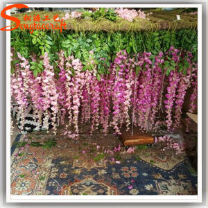 Home Decoration Artificial Silk Wisteria Flower pictures & photos