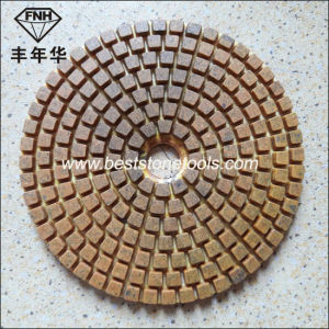 Wd-11 Diamond 3 Step Wet Flexible Polishing Pad pictures & photos