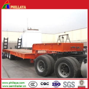 Extendable Semi Low Flatbed Trailer for Wind Blade/ Air Duct pictures & photos