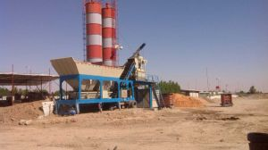 Yhzs25 Mobile Commercial Concrete Batching Plants Price pictures & photos