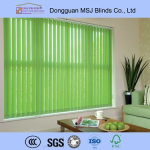 2016 New Trend Wooden Vertical Blinds pictures & photos