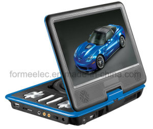 7inch LCD Portable DVD Player Pdn789 with FM TV Games pictures & photos