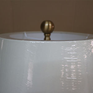 Antique Hotel Decorative Blue Ceramic Bedside Desk Light Table Lamp pictures & photos