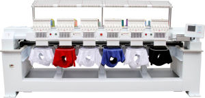 6 Head Cap Embroidery Machine for 3D Embroidery Wy1206c pictures & photos