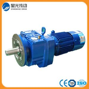 R Helical Gearbox Flange Mounted pictures & photos