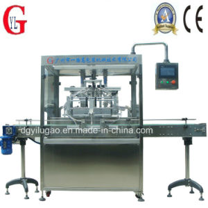 Factory Price Automatic Linear Liquid Filling Machine (YLG-4F) pictures & photos