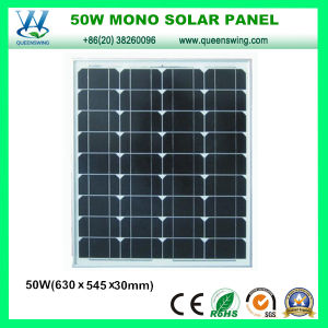 50W Monocrystalline Silicon PV Panel Solar Panel (QW-M50W) pictures & photos