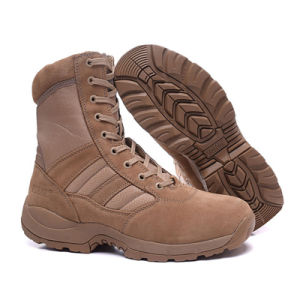 Genuine Leather Men Desert Boots Army Boots
