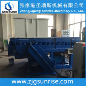 Good Quality Single Shaft Shredder for Plastic Lump Baled Film Carton pictures & photos