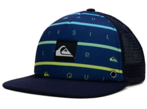Flat Brim Snapback Trucker Cap with 3D Embroidery Logo pictures & photos