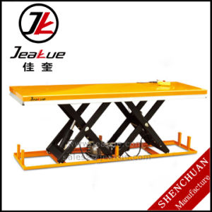Heavy Duty Large Size Twin Electric Lift Table pictures & photos