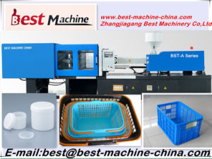 Famous Plastic Vegetable Bucket Injection Molding Making Machine pictures & photos