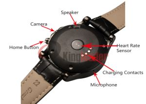 Latest 1.22 Inch HD IPS Screen Wrist Android Smart Watch with GPS (S2) pictures & photos