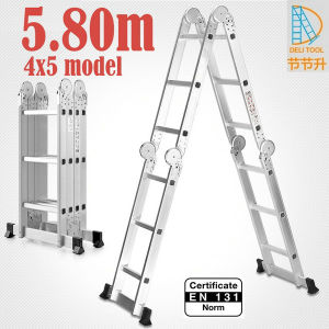 4X5 Multi-Function Ladder Big Hinge 5.8m pictures & photos