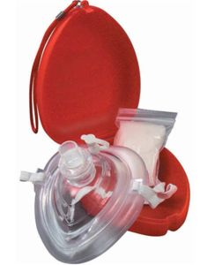 Eco-Friendly Plastic CPR Barrier Mask with Accessories
