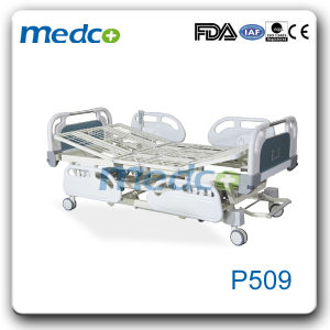 Five-Function Electric Hospital Nursing Bed Manufacturer pictures & photos