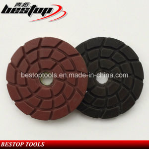 "4"" Man Made Stone Wet Polishing Pad for Spain Market pictures & photos"