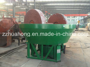 Gold Ore Grinding Wet Pan Mill, Gold Grinding Mill Machine pictures & photos
