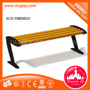 European Standard Solid Wood Bench Outdoor Park Leisure Furniture pictures & photos