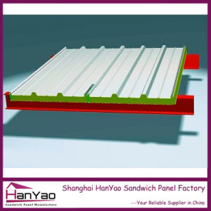 Customized Thermal Insulated Polyurethane PU Sandwich Panel for Roof System pictures & photos