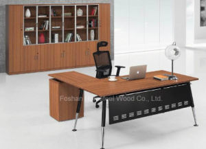 Wooden Office Table for Office Furniture with ISO9001 Certification (HF-AA002) pictures & photos