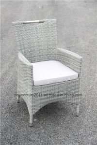 Outdoor Garden Wicker Rattan Dining Table Set and Chair pictures & photos