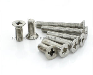 Fastener Stainless Steel Phillip Head Screw/Countersunnk Screw/Flat Head Screw M2-M6 pictures & photos