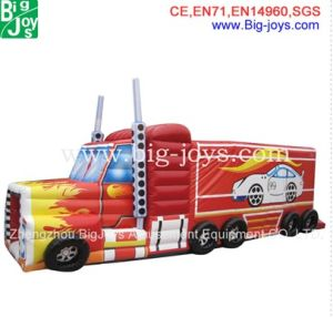 Inflatable Bouncers Inflatable Train Bounce House for Sale (DJIBMC03) pictures & photos