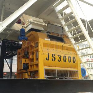 Top Quality Js3000 Double Mixer Shaft Concrete Mixer pictures & photos