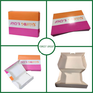 White Cardboard Mini Cupcake Paper Box (FP900007) pictures & photos