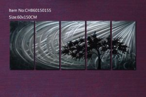 Metal Wall Art Metal Painting Contemporary Abstract Sculpture Modern Decor Art pictures & photos