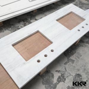 Pure White Artificial Quartz Stone Countertop pictures & photos