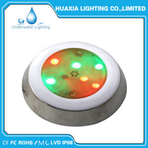 316 Stainless Steel 230mm Small LED Surface Underwater Pool Light pictures & photos