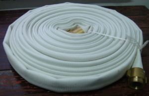High Pressure Canvas Fire Hose with Rubber / PVC Lining pictures & photos