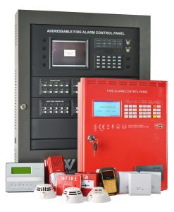 Factory Hot Sale Addressable Fire Alarm Control Panel for Warehouse pictures & photos