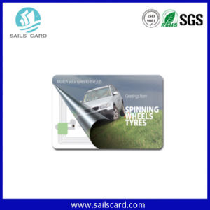 Customized Printing Magnetic Stripe Smart Card with F08/S50 Chip pictures & photos