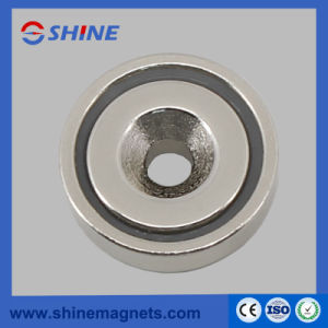 Neodymium Pot Magnet with Countersunk Hole A25 pictures & photos