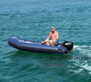 Liya Small Open Floor Rib Boat Fiberglass Flat Bottom Boat pictures & photos